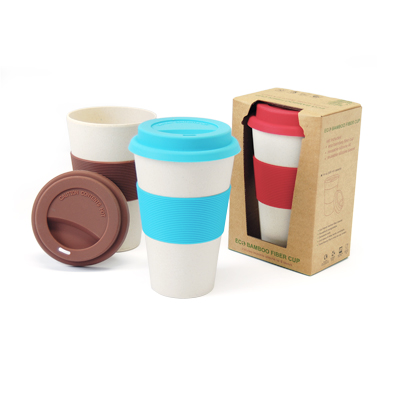 Eco-Friendly Tumbler with Silicone Sleeve