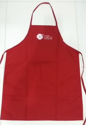 Corporate Gift Singapore SG50 Apron Shiseido