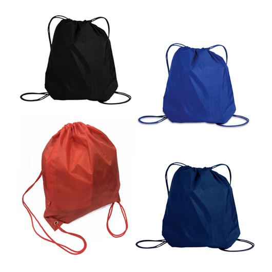 TPG Drawstring Bag with Zip Pocket