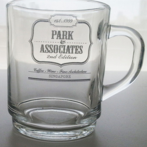Corporate Gift Singapore TPG Shot Glass - Park Associates