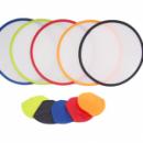 TPG Foldable Colour Trimmed Fan – 25cm