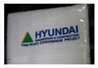 Corporate Gift Singapore Hand Towel Hyundai