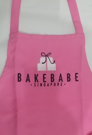 Embriodered Apron - Bakebabe