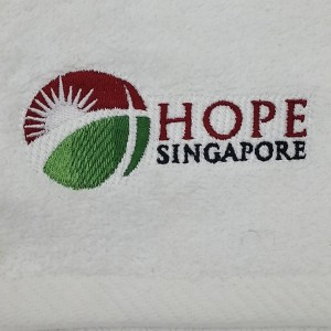 TPG Face Towel - Hope Singapore Closeup