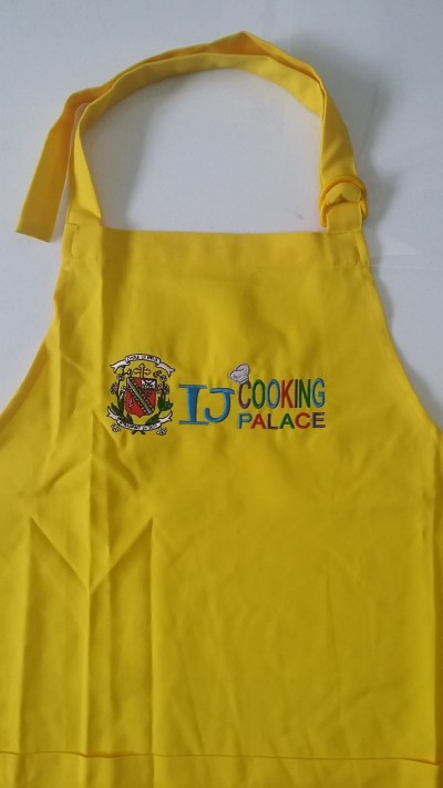 Corporate Gift Singapore TPG Kids Apron - CHIJ