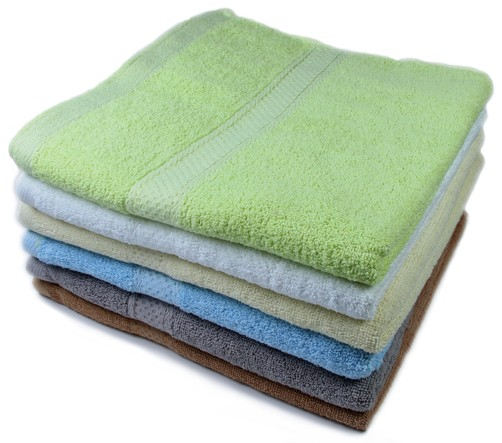 Corporate Gift Singapore Bath Towel - Pattern Cotton