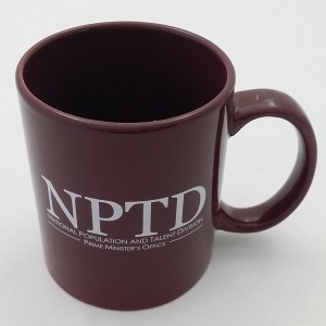 TPG Ceramic Mug - Full Colour Top