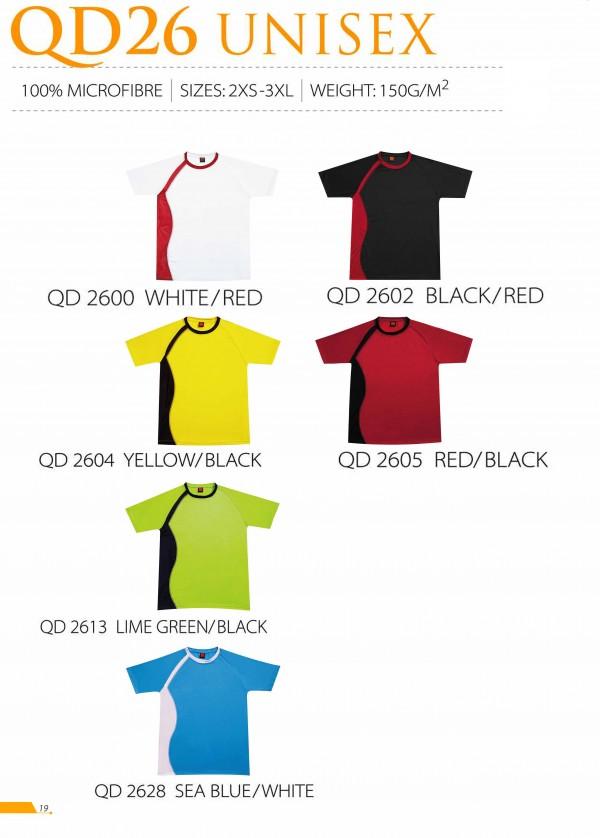 TPG Quick Dry Unisex QD26 (Catalogue)