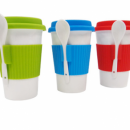 TPG Ceramic Tumbler with Silicone Sleeves