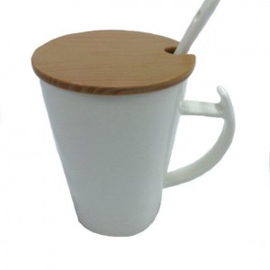 TPG Ceramic Mug - Spoon Lid
