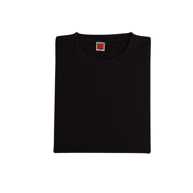 TPG Quick Dry Female T-Shirt (Black)