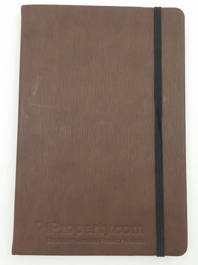 Corporate Gift Singapore A5 Thermo PU Notebook - 96 pages