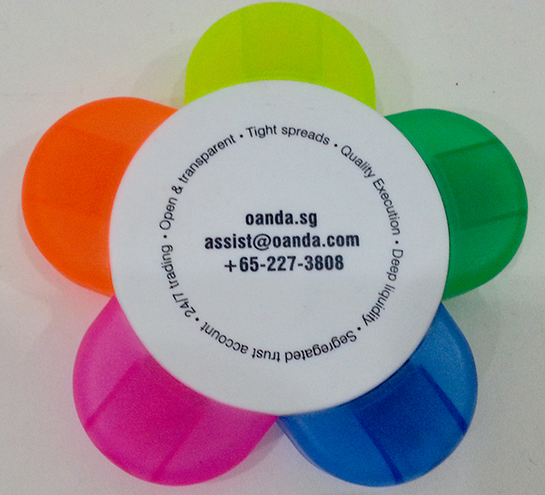 Corporate Gift Singapore Flower Highlighter - 5C (Oanda)