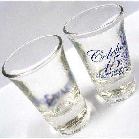 Corporate Gift Singapore TPG Shot Glass - NUS