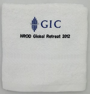 Embriodered Hand Towel -  GIC