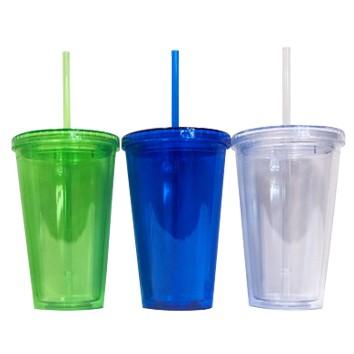 TPG BPA free Tumbler with Straw – 520ml
