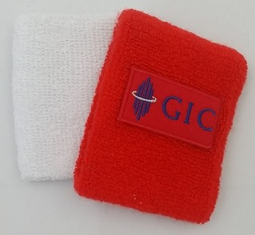 Corporate Gift Singapore SG50 Sports Wristband GIC