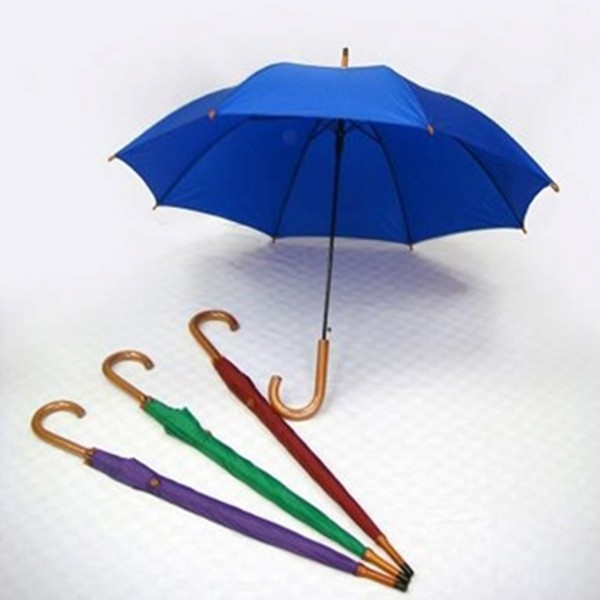 Corporate Gift Singapore TPG 24 Half Wood Umbrella 8P