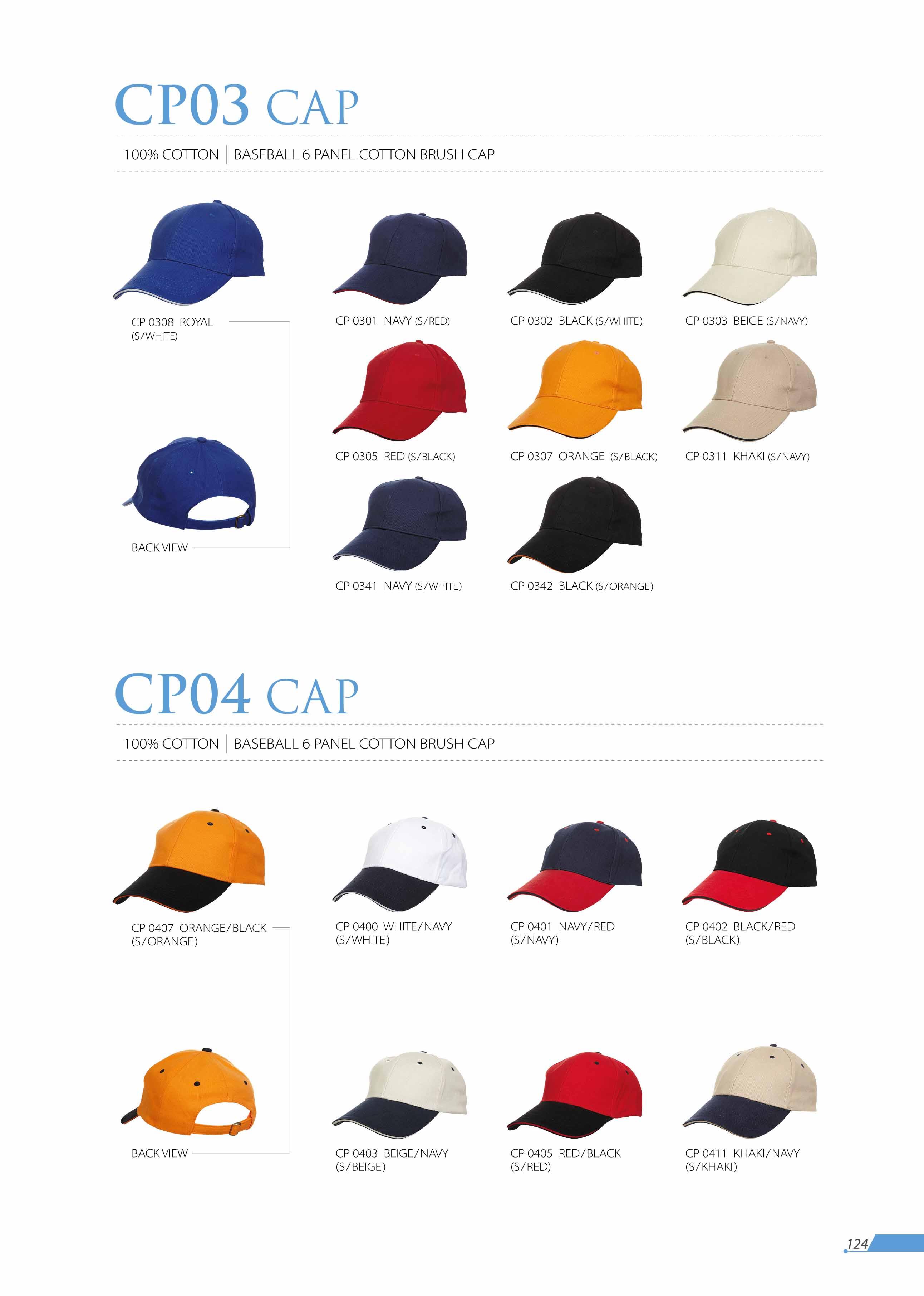 CAP CP03 CP04