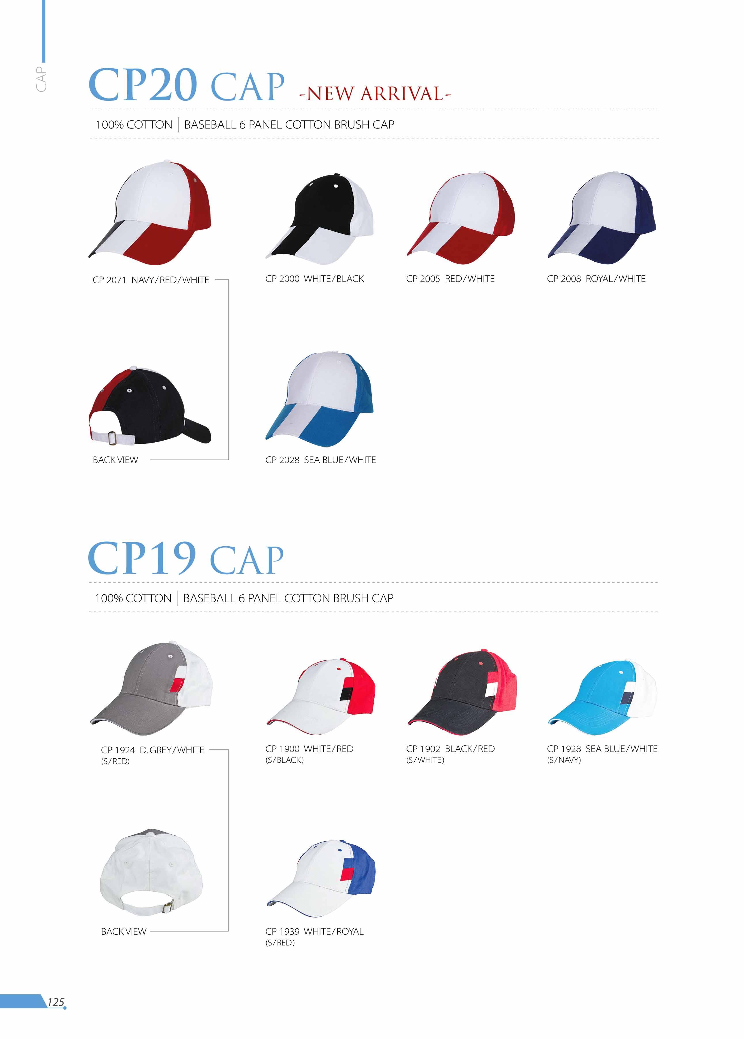 CAP CP20 CP19