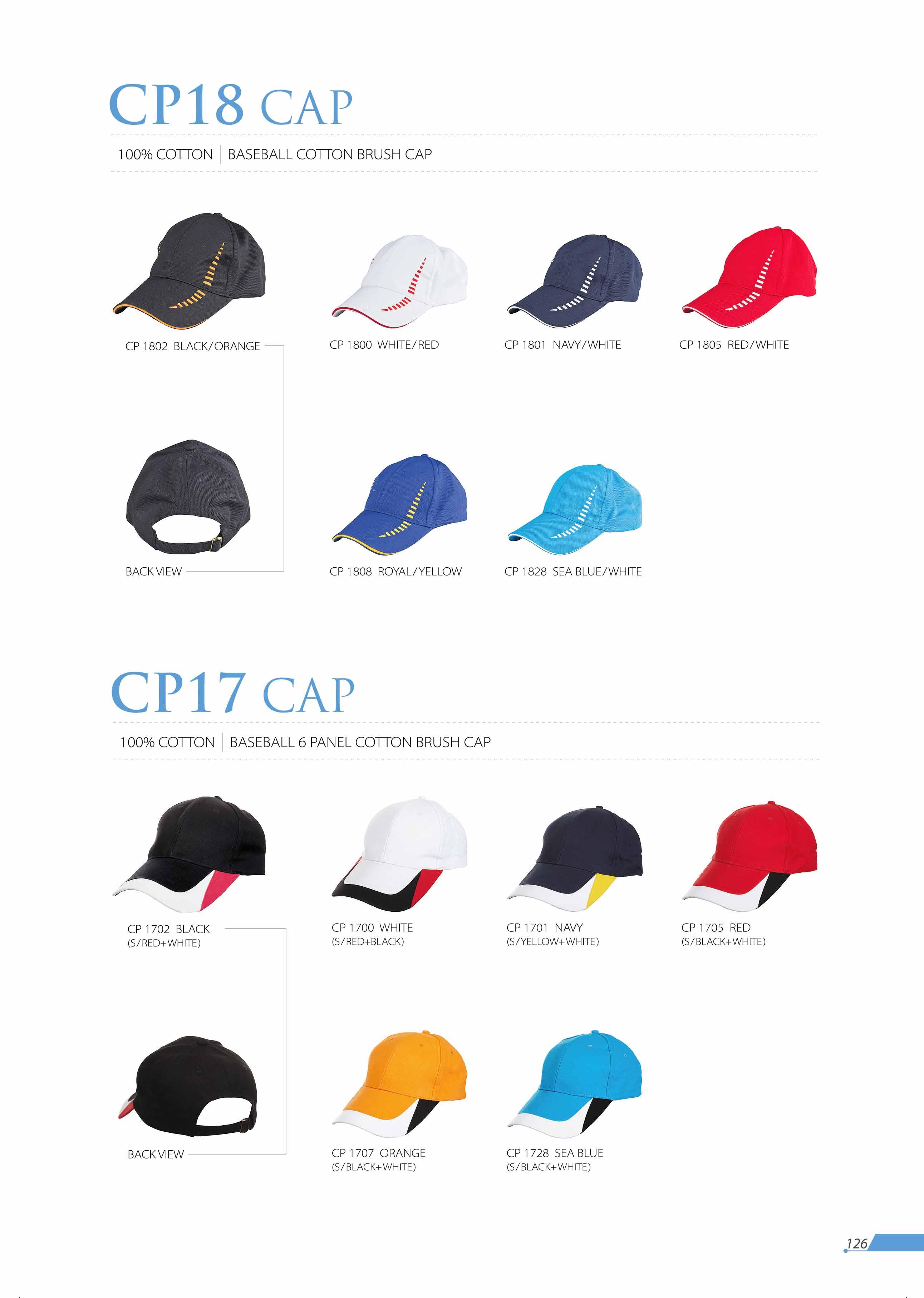 CAP CP18 CP17