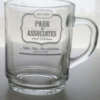 Corporate Gift Singapore TPG Beer Glass