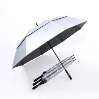 "Corporate Gift Singapore TPG 30"" Double Tier UV Golf Umbrella"
