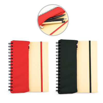 Corporate Gift Singapore TPG Jonzelle Notebook With Pouch