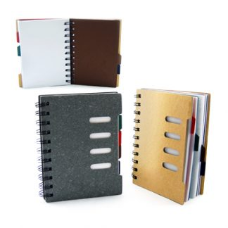 Corporate Gift Singapore TPG Vinyl A6 Note Book - 100 sheets