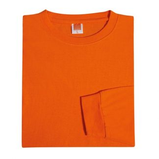TPG Long Sleeve Cotton T-Shirt (Orange)