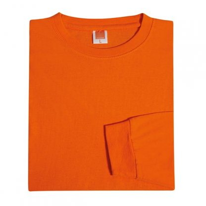 TPG Long Sleeve Cotton T-Shirt (Orange)