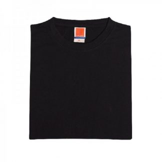 Corporate Gift Singapore TPG Superb Cotton T-Shirt (Black)