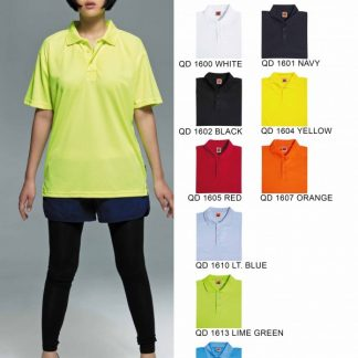 TPG Quick Dry Female Collar T-Shirt (Catalogue)