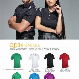 TPG Quick Dry Unisex QD34 (Catalogue)