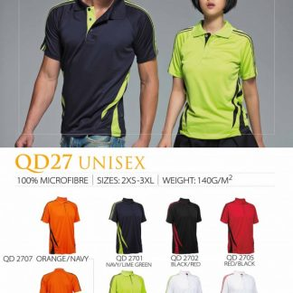 TPG Quick Dry Unisex QD27 (Catalogue)