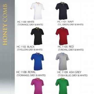 TPG Honey Comb Unisex T-Shirt HC11 (Catalogue)
