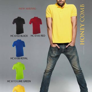 TPG Honey Comb Unisex Soft Cotton T-Shirt HC61 (Catalogue)