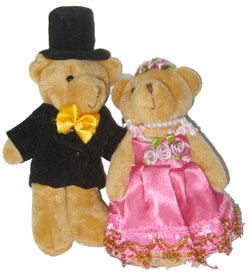 Wedding Bear 1
