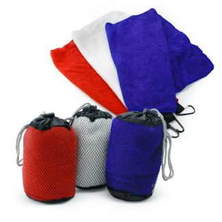 Corporate Gift Singapore TPG Qvosoft Sports Microfibre Towel 80x36cm
