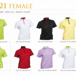 TPG Quick Dry Female T-Shirt QD21 (Catalogue)