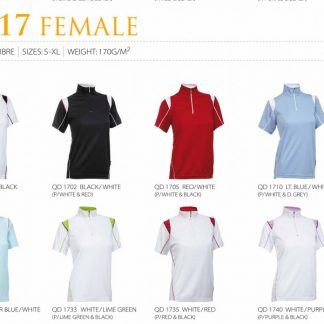 TPG Quick Dry Female T-Shirt QD17 (Catalogue)