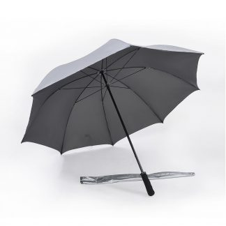 Corporate Gift Singapore TPG 30″ Lightweight UV Golf Umbrella (Grey)