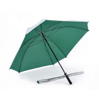 "Corporate Gift Singapore TPG 30"" Lightweight UV Square Golf Umbrella"