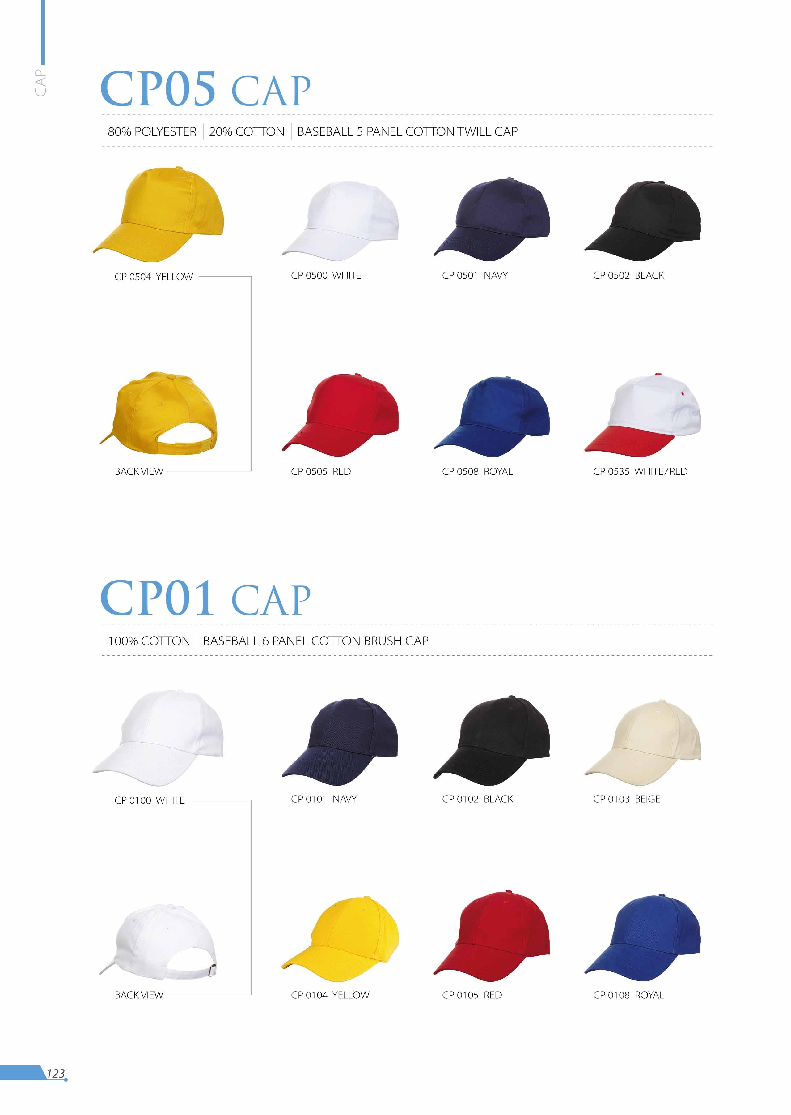 CAP CP05 CP01